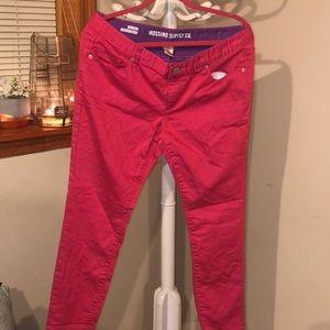 Pink Pants Size 17